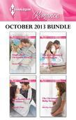 Harlequin Romance October 2013 Bundle: Single Dad's Christmas Miracle\Snowbound with the Soldier\The Redemption of Rico D'Angelo\The Christmas Baby Su