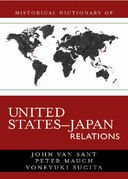 Historical Dictionary of United States-Japan Relations