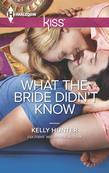 What the Bride Didn't Know