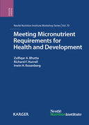 Meeting Micronutrient Requirements for Health and Development