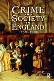 Crime and Society in England: 1750 - 1900