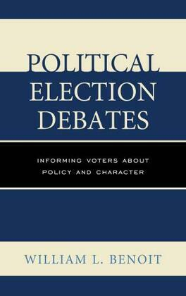Political Election Debates: Informing Voters about Policy and Character