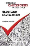 Checkpoints VCE Text Guides: Stasiland by Anna Funder