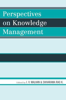 Perspectives on Knowledge Management