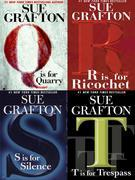 Four Sue Grafton Novels