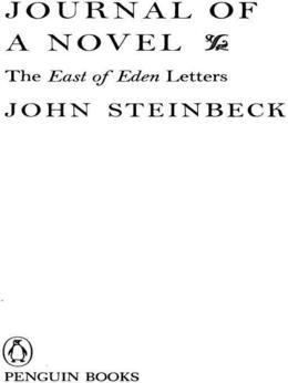Journal of a Novel: The East of Eden Letters
