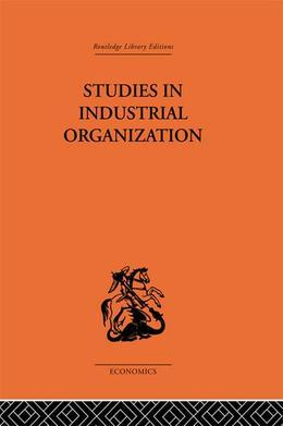 Studies in Industrial Organization