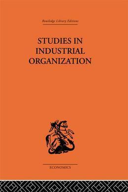 Studies in Industrial Organization