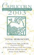 Total Horoscopes 2003: Capricorn