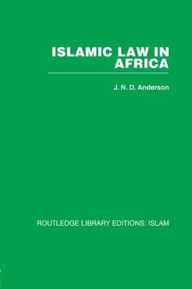 Islamic Law in Africa