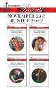 Harlequin Presents November 2013 - Bundle 2 of 2: A Scandal in the Headlines\Never Gamble with a Caffarelli\Secrets of a Powerful Man\A Touch of Tempt