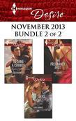 Harlequin Desire November 2013 - Bundle 2 of 2: To Tame a Cowboy\One Texas Night...\The Pregnancy Plot