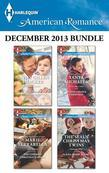 Harlequin American Romance December 2013 Bundle: The Texas Christmas Gift\The Cowboy's Christmas Surprise\Second Chance Christmas\The SEAL's Christmas