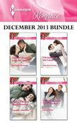 Harlequin Romance December 2013 Bundle: Second Chance with Her Soldier\Snowed in with the Billionaire\Christmas at the Castle\Snowflakes and Silver Li