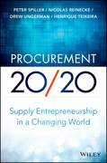Procurement 20/20: Supply Entrepreneurship in a Changing World