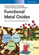 Functional Metal Oxides: New Science and Novel Applications