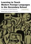Learning to Teach Modern Languages in the Secondary School: A Companion to School Experience