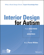 Interior Design for Autism from Adulthood to Geriatrics