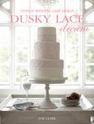 Dusky Lace Dream: Vintage Wedding Cake Design