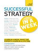 Strategy in a Week: Teach Yourself