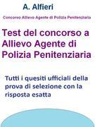 Test concorso allievo agente polizia penitenziaria