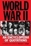 World War II: An Encyclopedia of Quotations