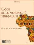 Code de la nationalité sénégalaise
