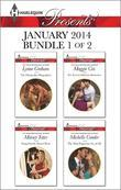 Harlequin Presents January 2014 - Bundle 1 of 2: The Dimitrakos Proposition\Forged in the Desert Heat\The Tycoon's Delicious Distraction\The Most Expe