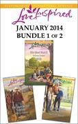 Love Inspired January 2014 - Bundle 1 of 2: Her Unexpected Cowboy\His Ideal Match\The Rancher's Secret Son