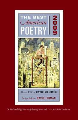 The Best American Poetry 2009: Series Editor David Lehman