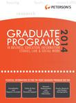 Graduate Programs in Business, Education, Information Studies, Law & Social Work 2014 (Grad 6)