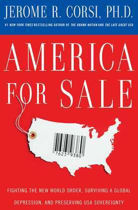 America for Sale: Fighting the New World Order, Surviving a Global Depression, and Preserving USA Sovereignty