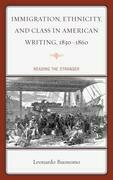 Immigration, Ethnicity, and Class in American Writing, 1830-1860: Reading the Stranger