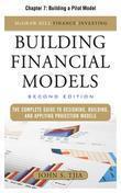 Building Financial Models, Chapter 7 - Building a Pilot Model