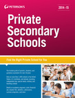 Private Secondary Schools  2014-2015