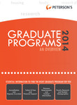 Graduate & Professional Programs: An Overview 2014 (Grad 1)