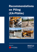 Recommendations on Piling (EA Pfhle)