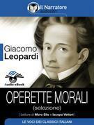 Operette morali (selezione) ( Audio-eBook)