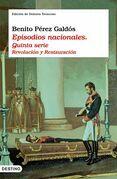 Episodios nacionales: Revolución y Restauración.