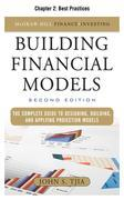 Building Financial Models, Chapter 2 - Best Practices