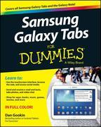Samsung Galaxy Tabs For Dummies
