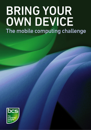Bring Your Own Device (BYOD): The mobile computing challenge
