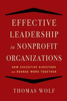 Effective Leadership for Nonprofit Organizations