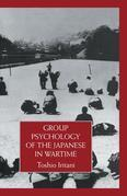 Group Psychology Of The Japanese