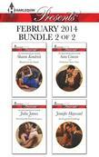 Harlequin Presents February 2014 - Bundle 2 of 2: Shamed in the Sands\Securing the Greek's Legacy\Seduction Never Lies\An Exquisite Challenge