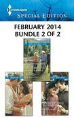 Harlequin Special Edition February 2014 - Bundle 2 of 2: A Sweetheart for Jude Fortune\Reuniting with the Rancher\The Doctor's Former Fiancee