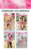 Harlequin Romance February 2014 Bundle: Daring to Trust the Boss\Rescued by the Millionaire\Heiress on the Run\The Summer They Never Forgot