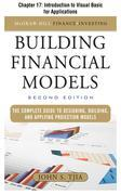Building Financial Models: Introduction to Visual Basic for Applications