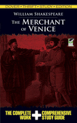 The Merchant of Venice Thrift Study Edition