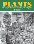 Plants: 2,400 Royalty-Free Illustrations of Flowers, Trees, Fruits and Vegetables